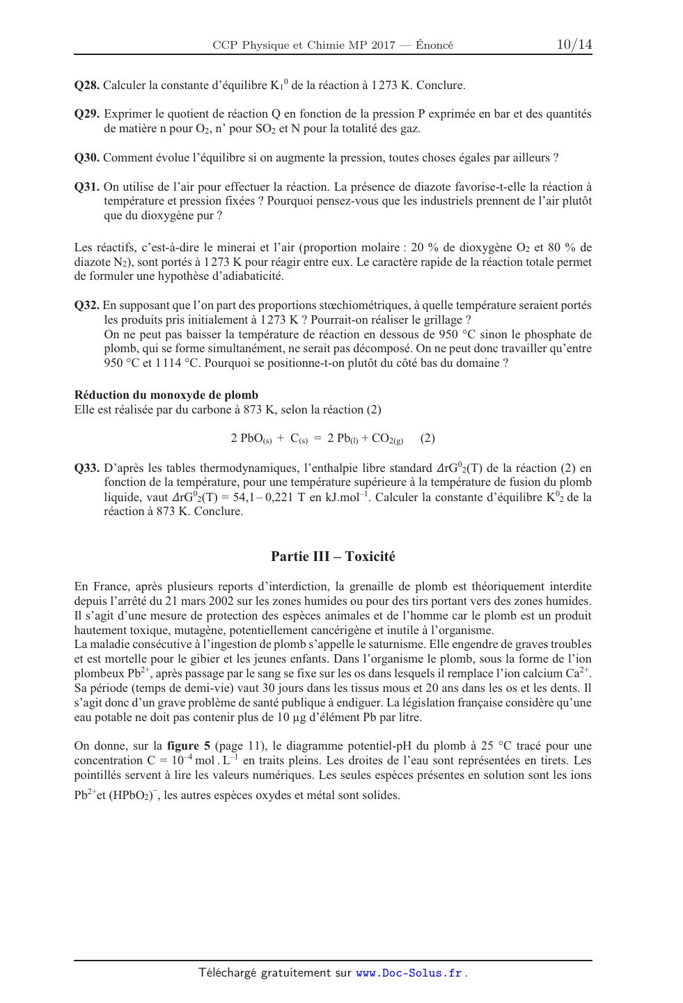 réaction totale chimie